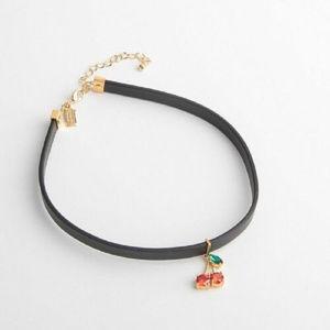 KATE SPADE Ma Chérie Cherry Chocker Necklace